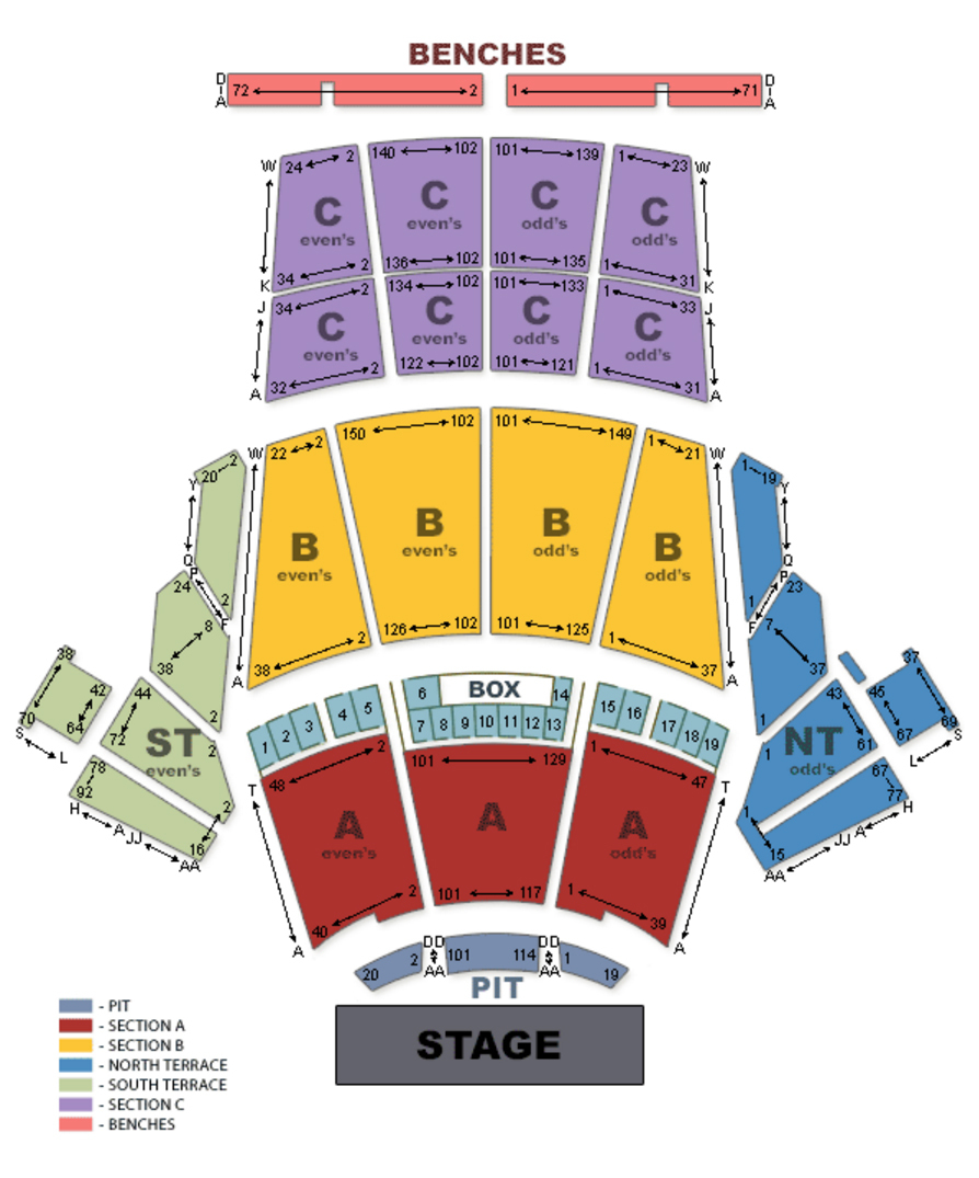 Greek theatre los angeles tickets schedule seating charts goldstar