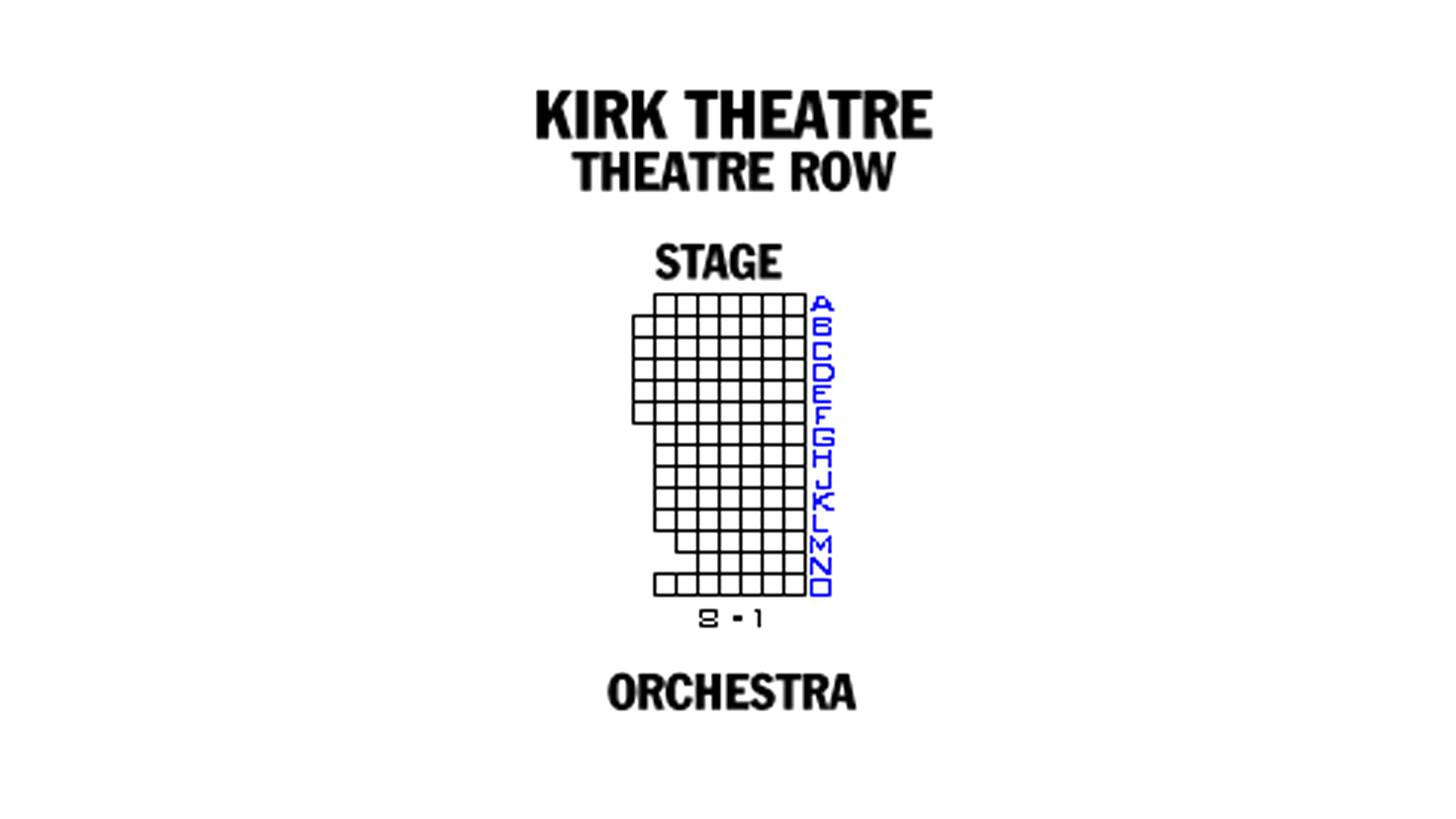 the kirk theatre row new york tickets schedule seating
