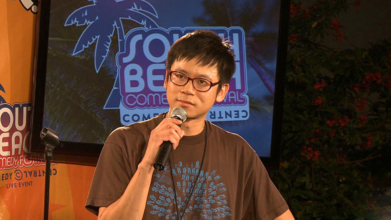 Comedian Sheng Wang (NBC's