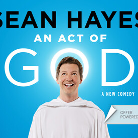 "Broadway's ""An Act of God"" With Sean Hayes"