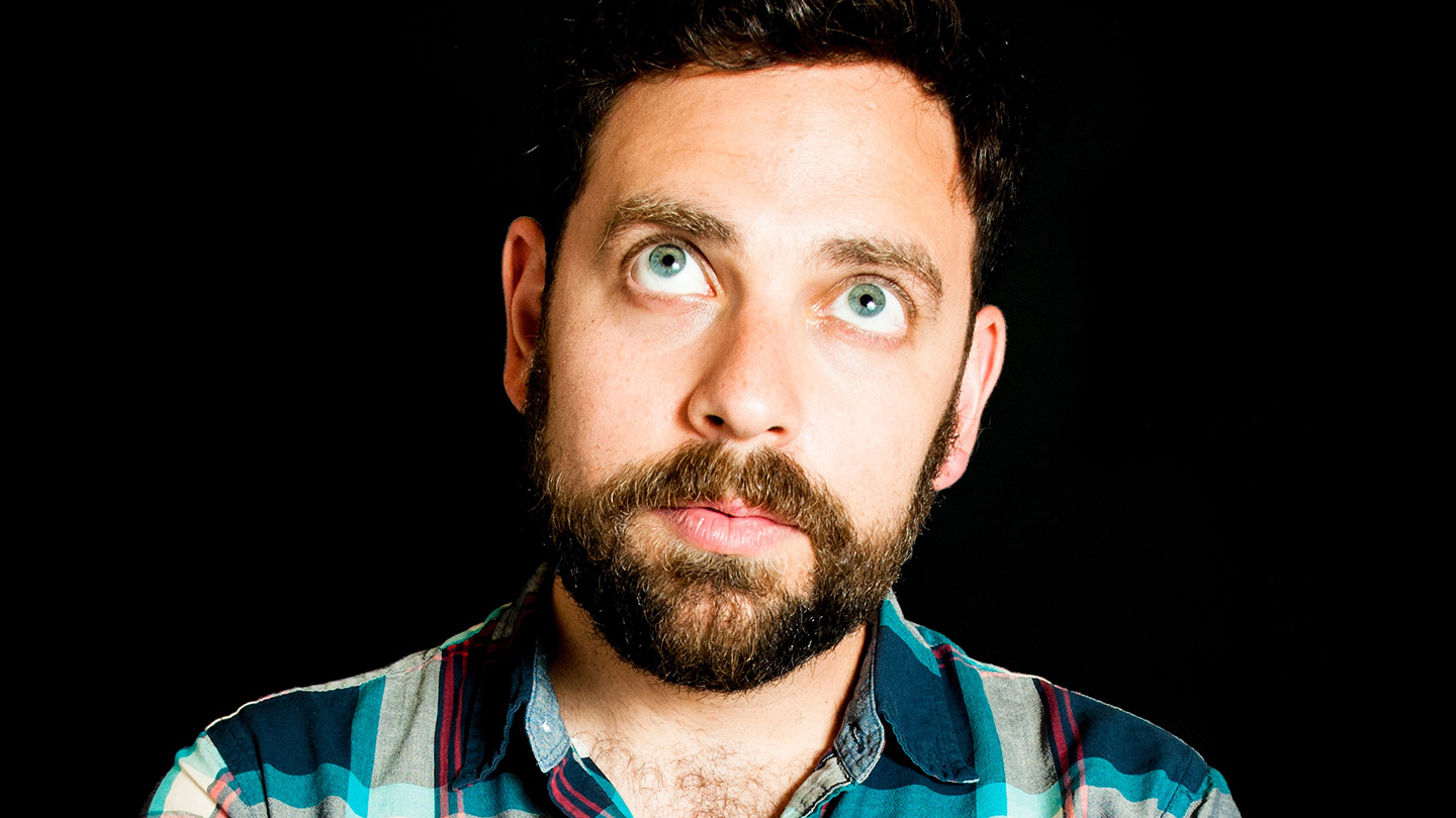 Comedian Barry Rothbart (