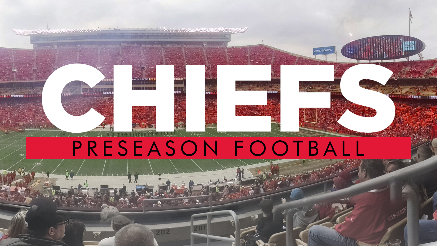 Chiefs Preseason Football: K.C. Battles Seahawks, Packers $8.00 - $63.00 ($44.7 value)