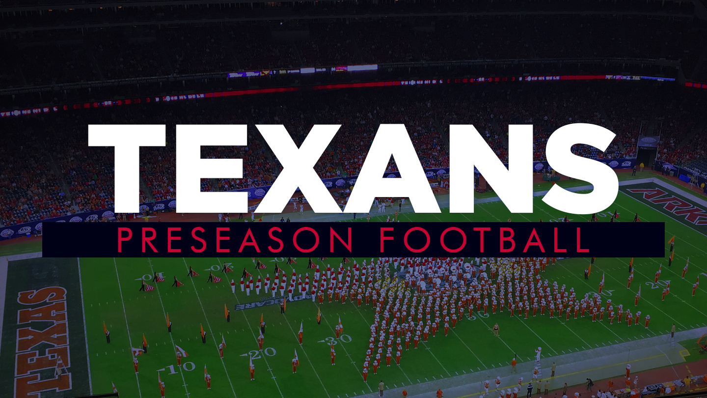 Texans Preseason Football: New QB Leads Houston in Matchups vs. Saints, Cardinals $30.00 - $60.00 ($45 value)