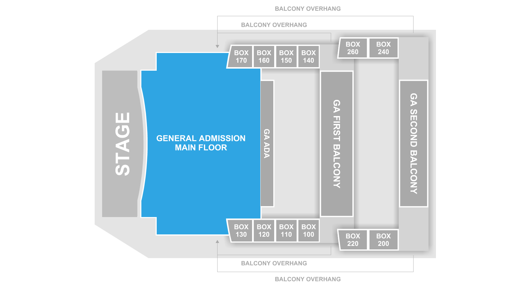 House of blues chicago chicago tickets schedule seating charts