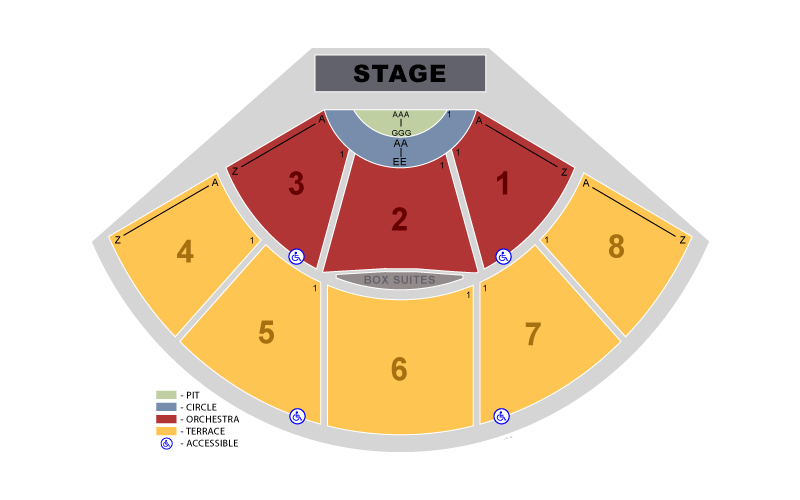 Pacific amphitheatre orange county tickets schedule seating