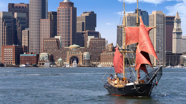 Pirate Ship Harbor Tour | Boston, MA | Massachusetts Bay Lines Vessels | July 17, 2017