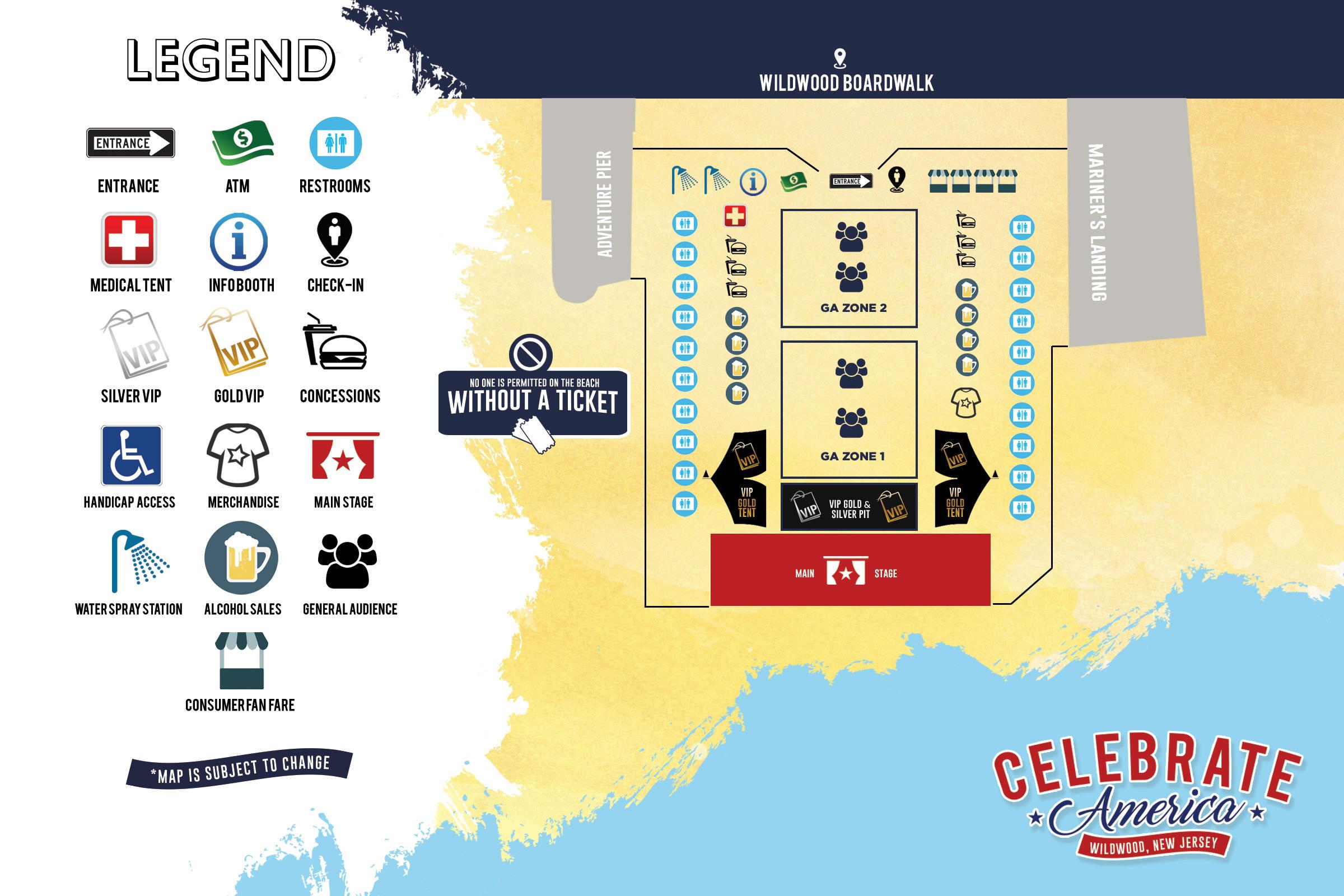 Wildwood Boardwalk Philadelphia Tickets Schedule Seating