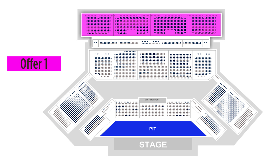 Toyota oakdale theatre hartford tickets schedule seating charts