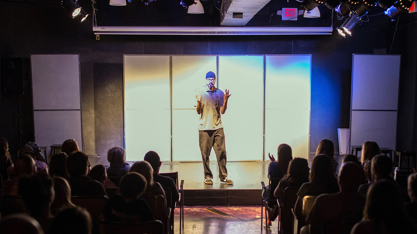 Comedy Created On the Spot in National Comedy Theatre Improv Show COMP - $7 ($14 value)