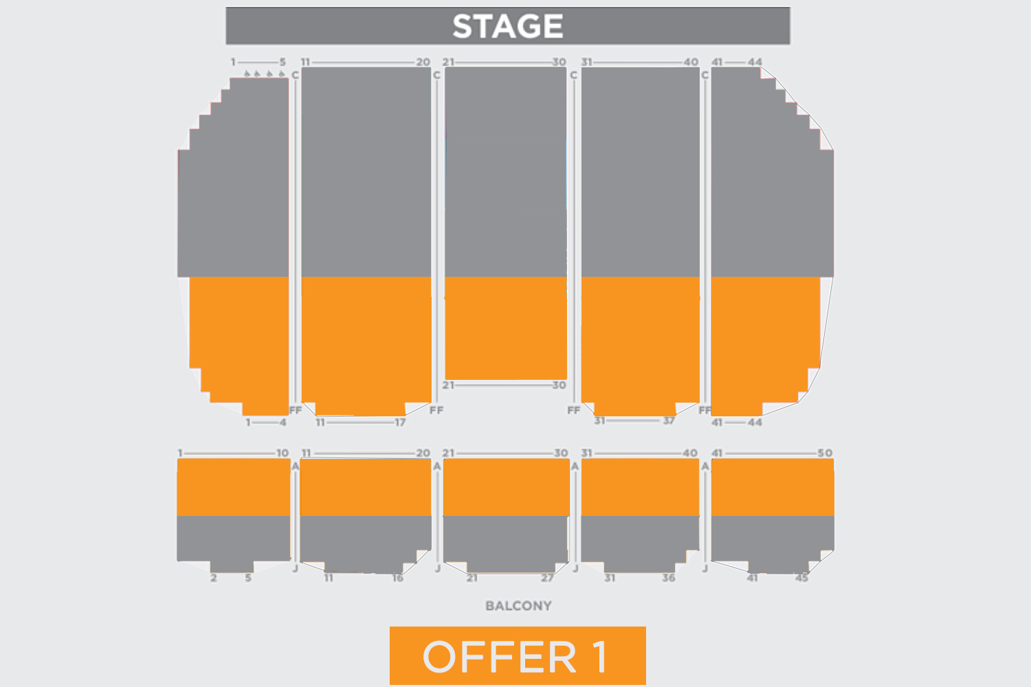 Copernicus center chicago tickets schedule seating charts goldstar