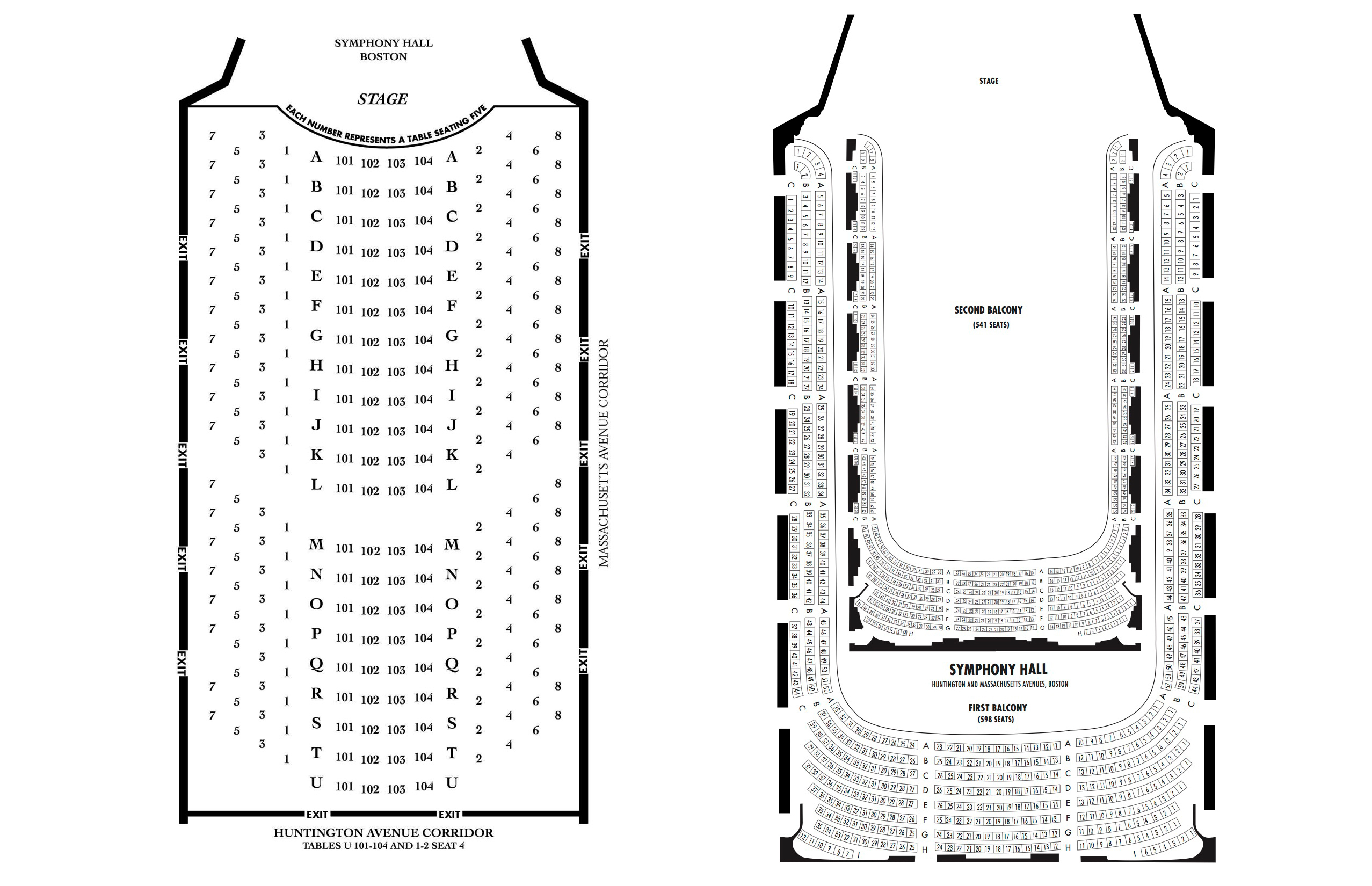 Boston symphony hall boston tickets schedule seating charts
