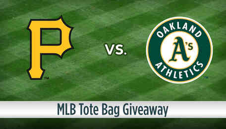 Half Price Red Hot OAKLAND A's tickets PLUS FREE Tote Bag