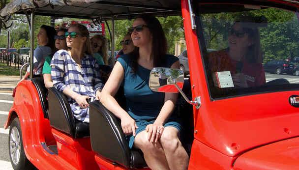 Tour the Capital Sites on the Washington D.C. Unveiled Electric Roadster Tour