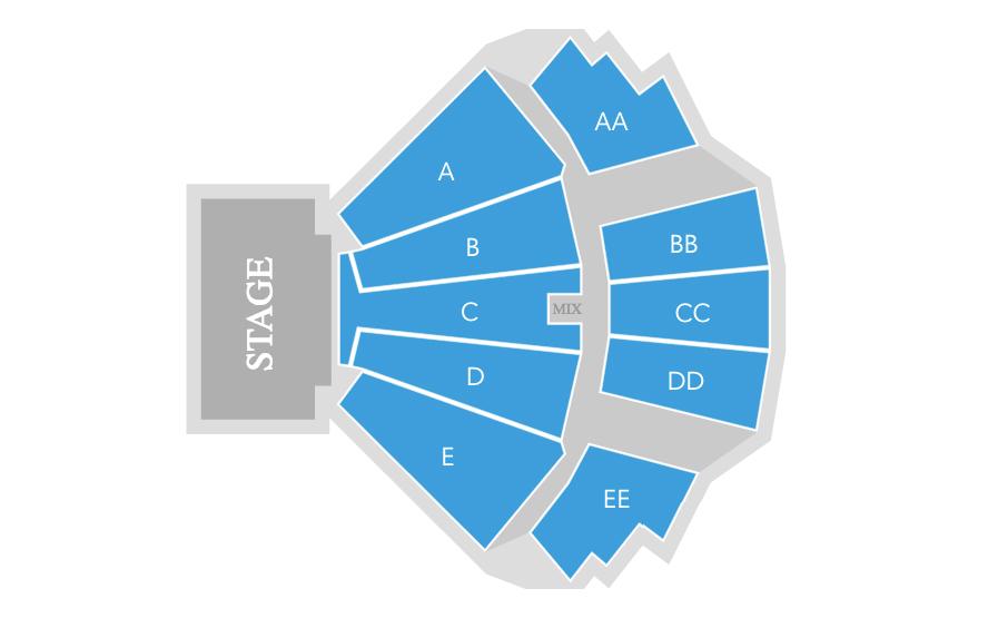 Wamu theater seattle wa tickets schedule seating charts goldstar