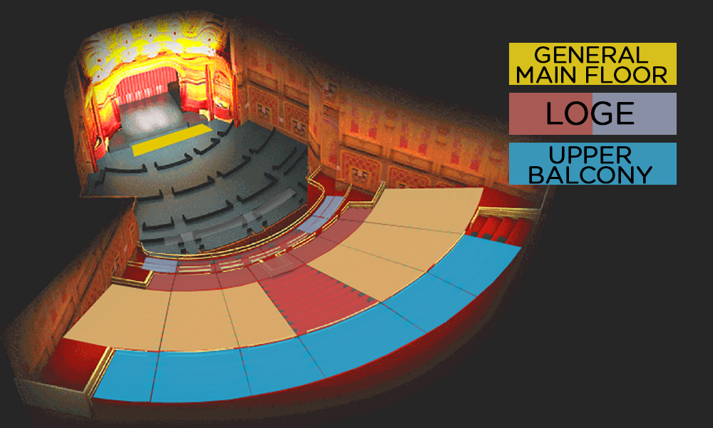 The warfield san francisco tickets schedule seating charts