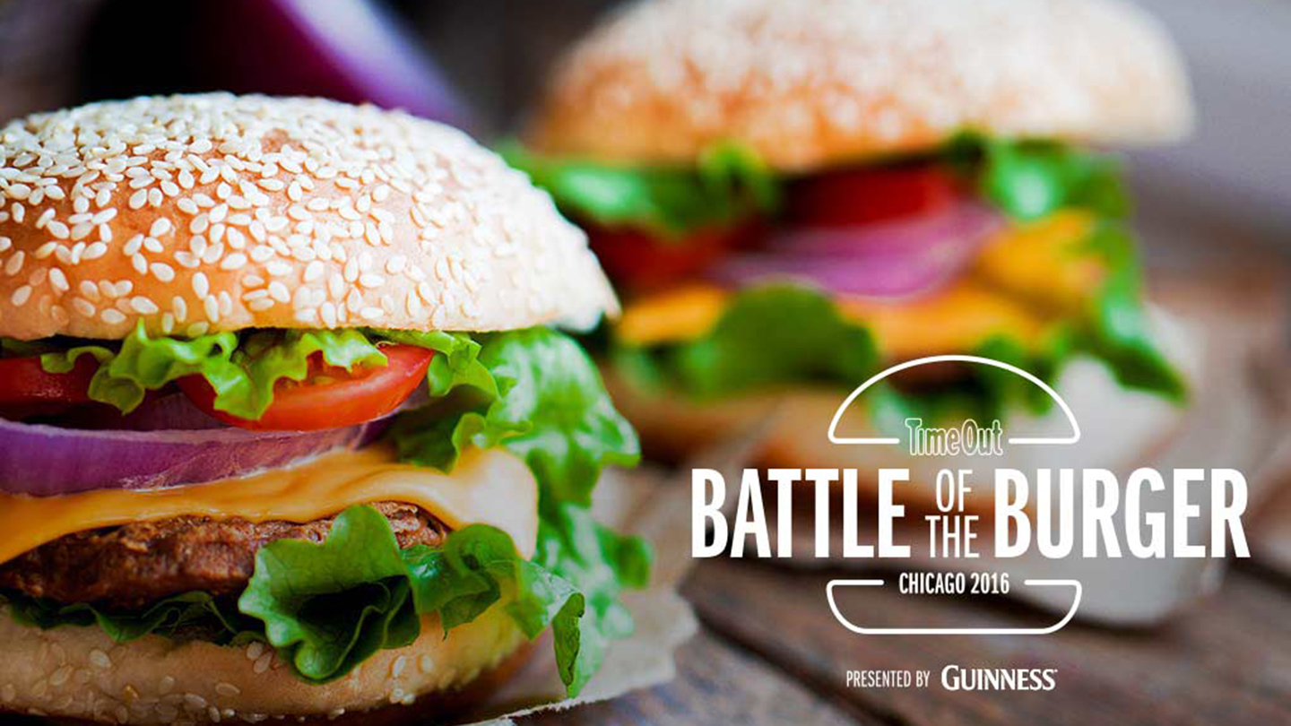 time out chicago battle of the burger presented by guinness