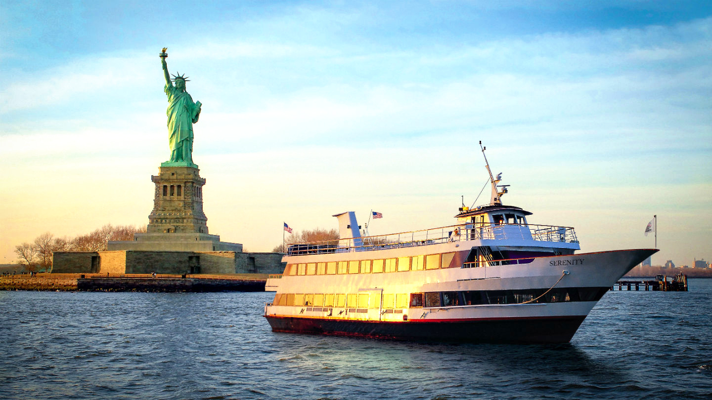 International Sightseeing Cruise: Narrated Tour of New York City Waterways $14 ($30 value)