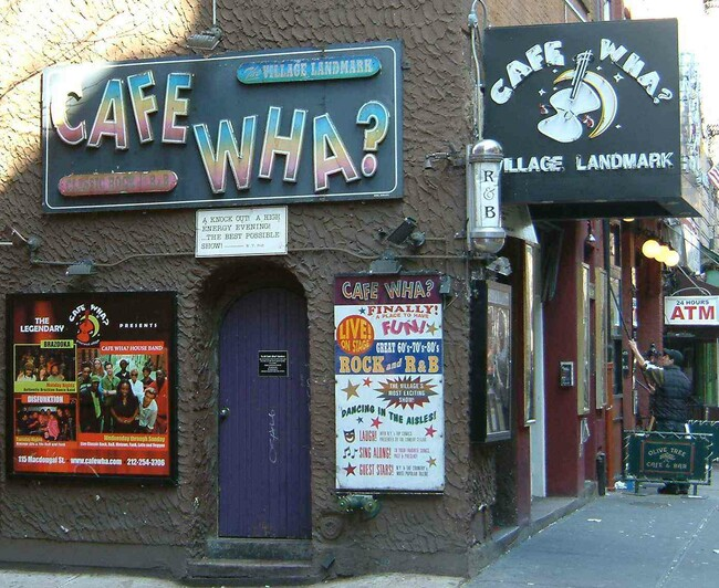 Cafe Wha? Tickets