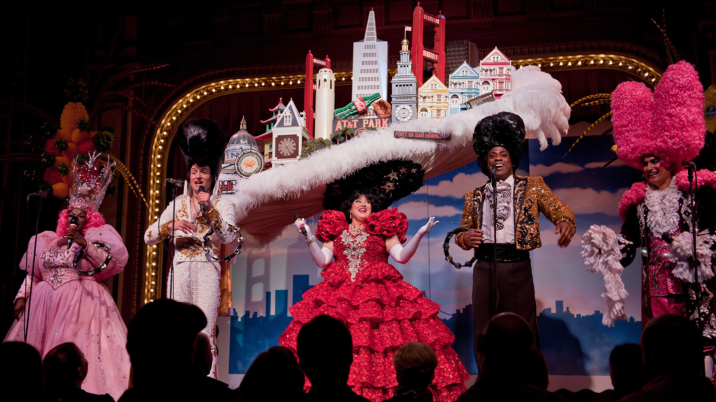 <em>Beach Blanket Babylon</em>