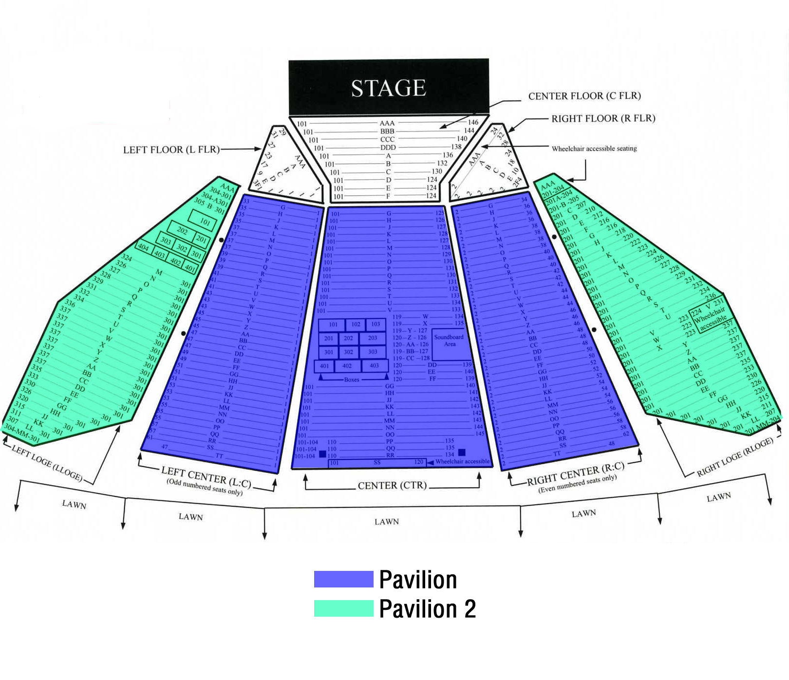 Merriweather post pavilion baltimore tickets schedule seating