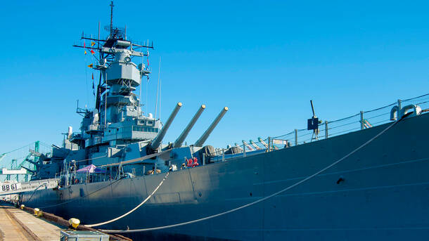 The Battleship Iowa Museum