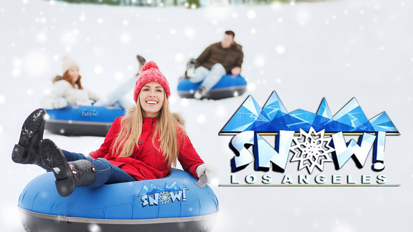 Snow Day LA -- Snow Tubing & Winter Fun for Everyone Near Downtown LA $10 - $32.50 ($24 value)