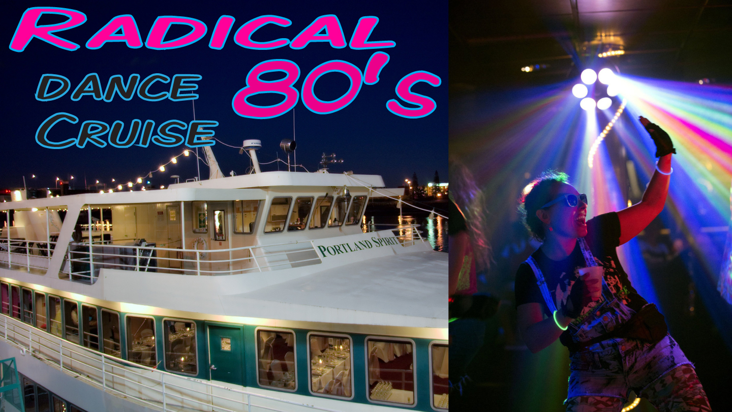Radical '80s Dance Cruise: Retro Party on the River $14 ($24 value)