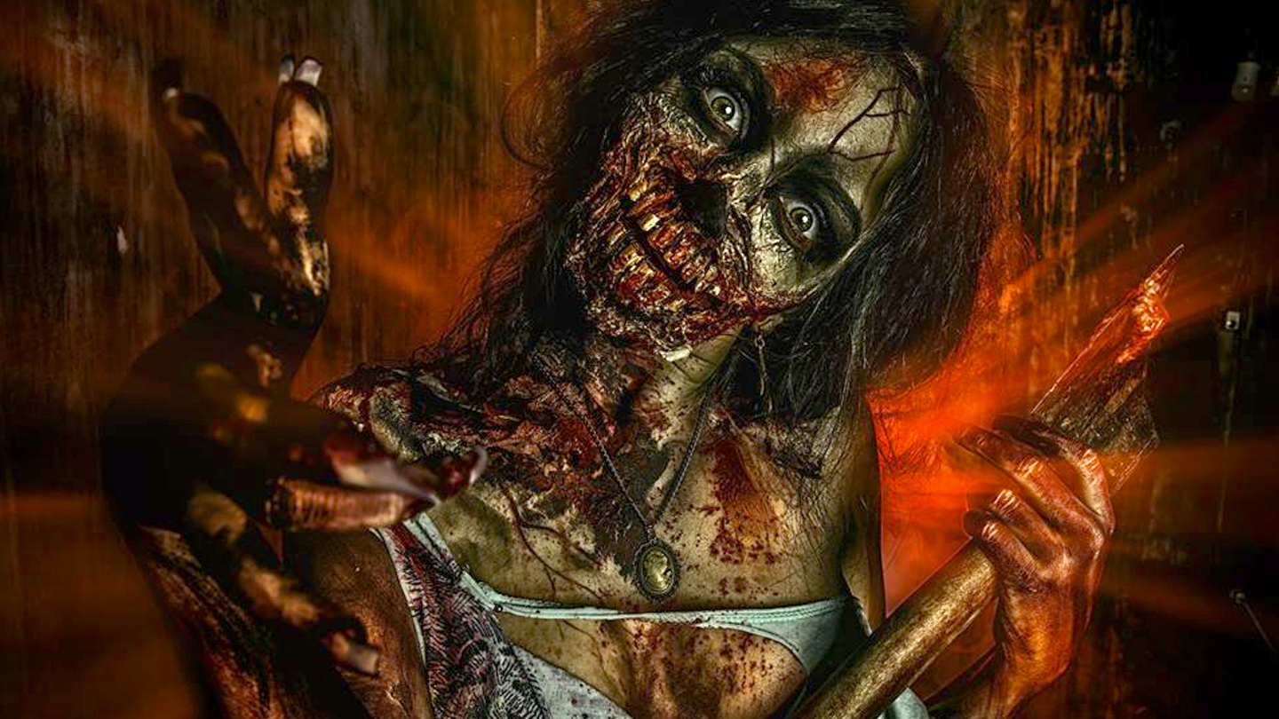 ScreamGate: Zombie Haunted House Experience $10 - $15 ($20 value)