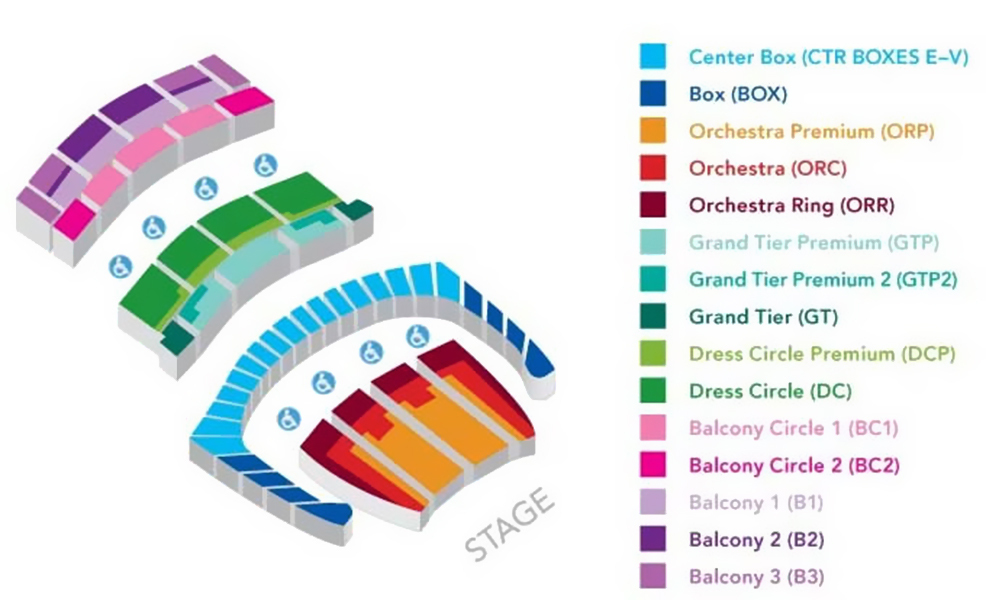 War Memorial Opera House San Francisco Tickets Schedule Seating – War Memorial Opera House Seating Plan