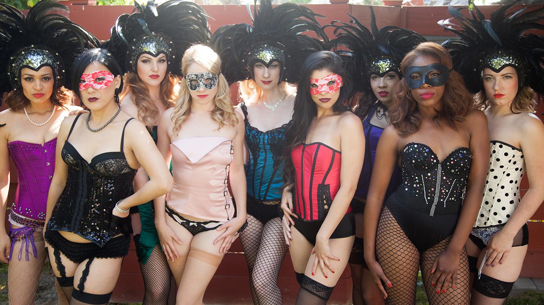The Dollface Dames Burlesque Show at Magicopolis COMP - $15 ($20 value)
