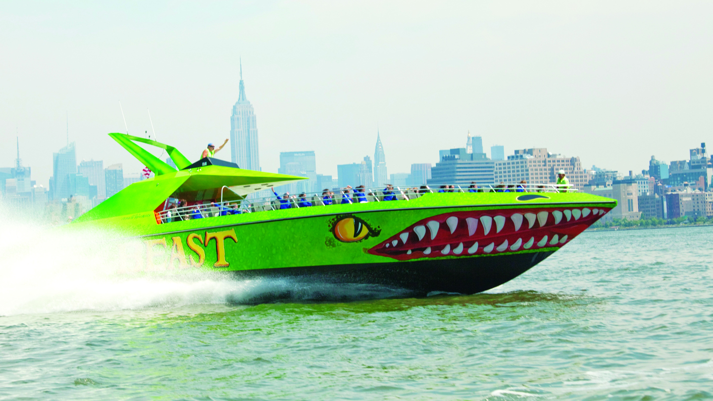 "Pulse-Pounding Speedboat Ride Aboard ""The Beast"""