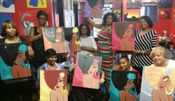 Colorful Canvas Art Parties Tickets