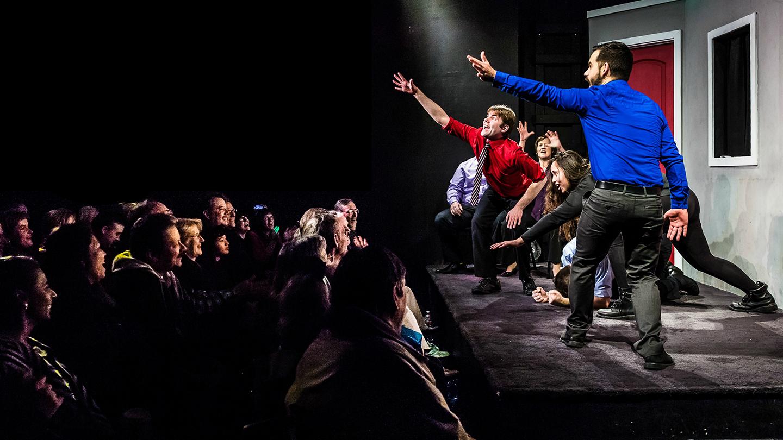 Laugh Track City Improv Comedy Show   Fremont, CA   Made Up Theatre   December 9, 2017