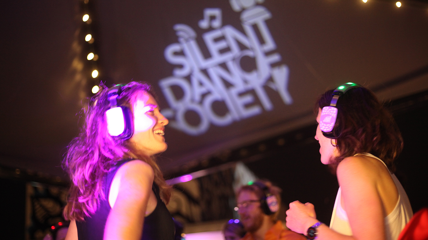 Saturday Silent Disco: Dance and Party to the Music You Choose COMP - $7.50 ($15 value)