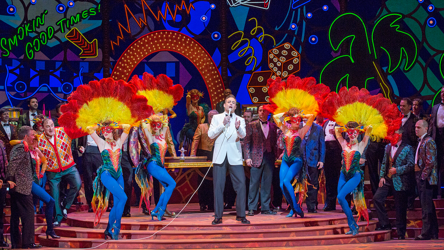 "Verdi's Famed Tragedy ""Rigoletto"" Re-Imagined in 1960s La Vegas"