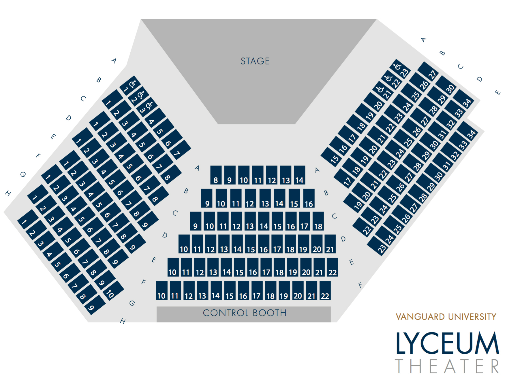 Lyceum Theater Seating Chart