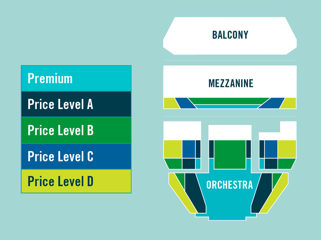Ahmanson theatre los angeles tickets schedule seating charts