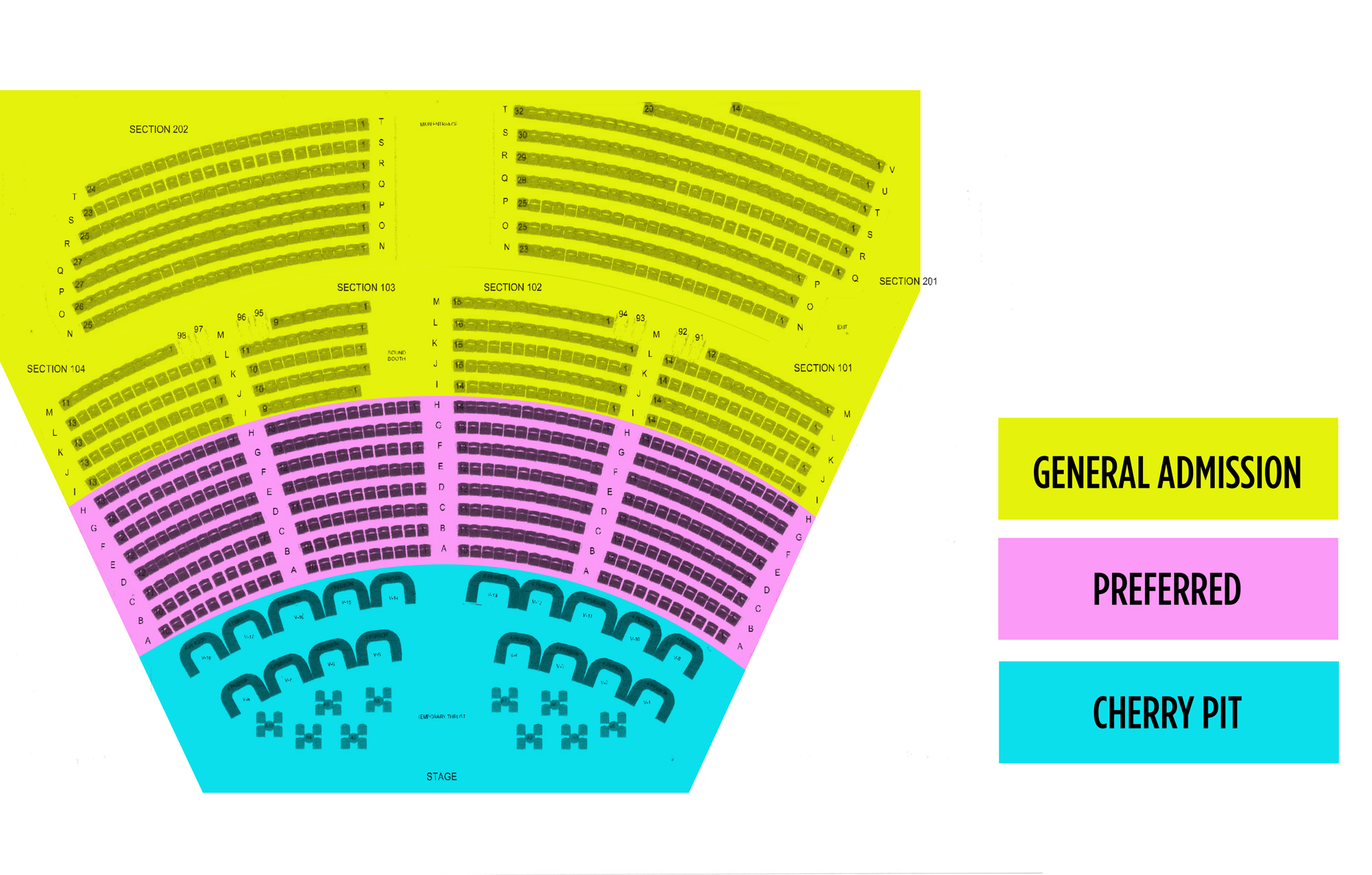 Tropicana theatre las vegas tickets schedule seating charts