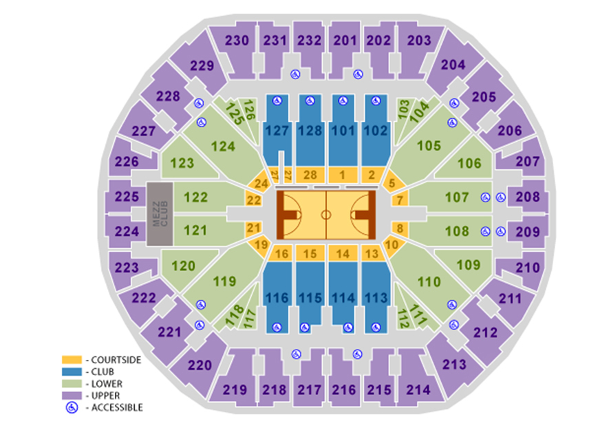 Oracle arena oakland ca tickets schedule seating charts goldstar