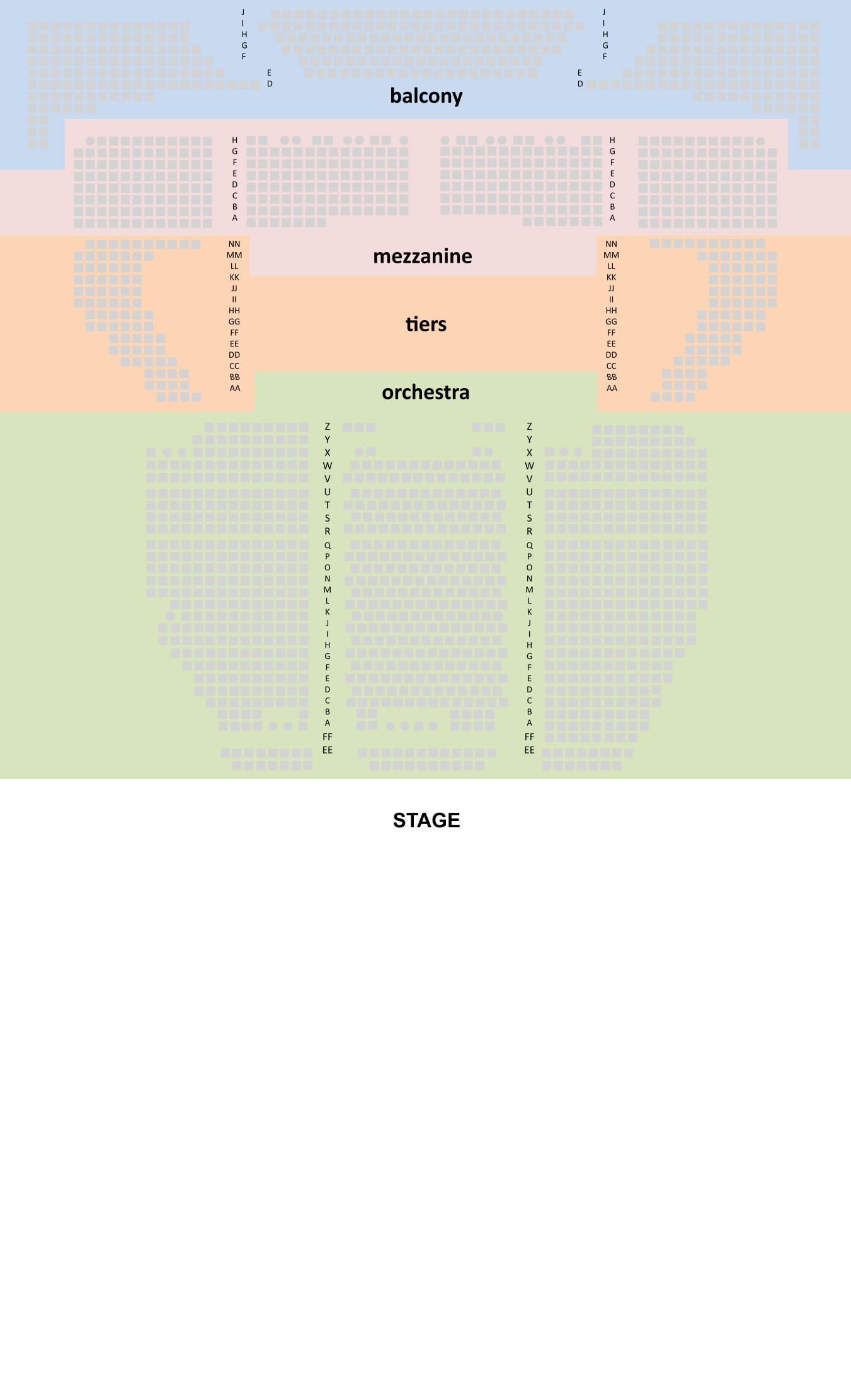 Seating Chart berkeleysymphony seatingchart Zellerbach Hall 2014 seating berkeley symphony tickets Berkeley Symphony