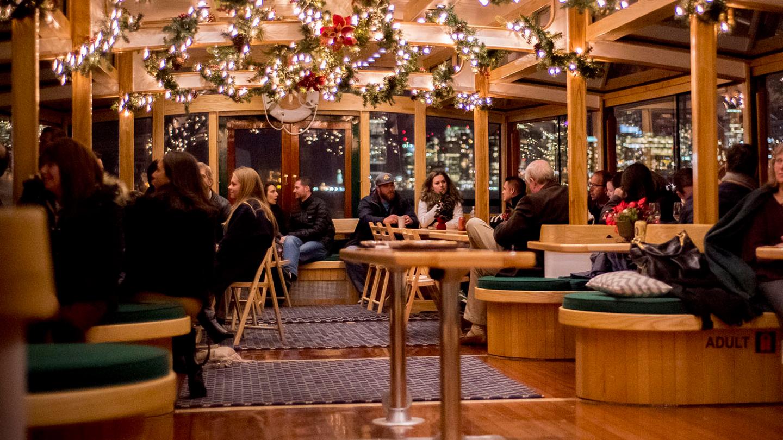 Cocoa & Carols on the Yacht Manhattan