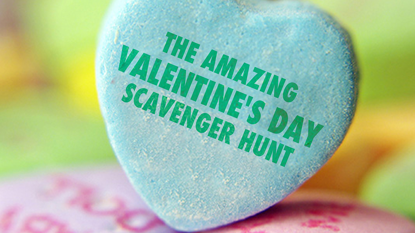 Valentine's Day Scavenger Hunt in New York City