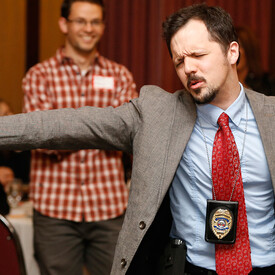 """The Dinner Detective"""" Murder Mystery Dinner Show Fort Collins"""