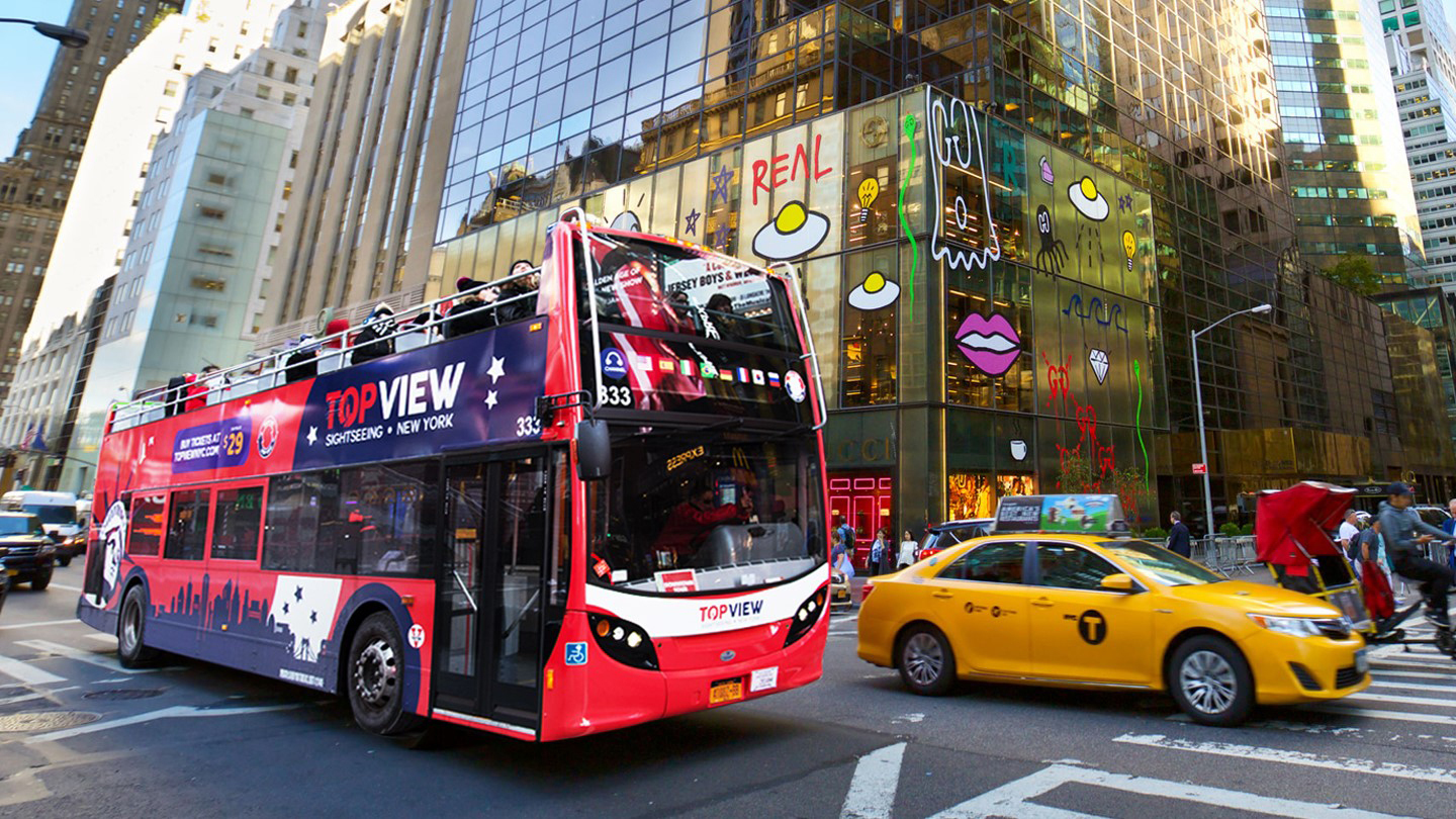 NYC Double Decker Bus Tours City Pass