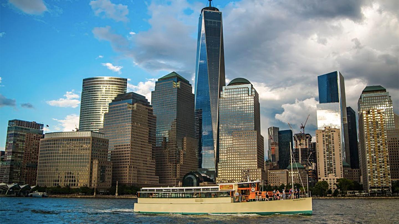 Relaxing Brunch Cruise Around Manhattan Aboard the Yacht Manhattan