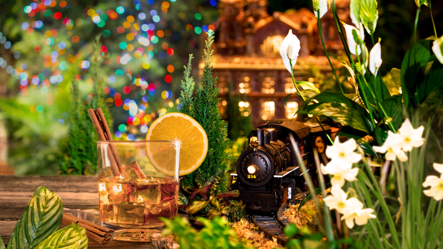 """""""Bar Car Nights"""": Adults-Only Viewing of """"Holiday Train Show"""""""