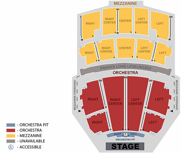Peabody opera house st louis tickets schedule seating charts