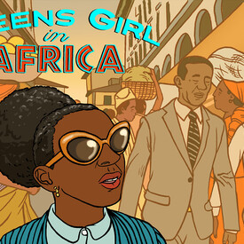 Mosaic Theater Presents Queens Girl in Africa