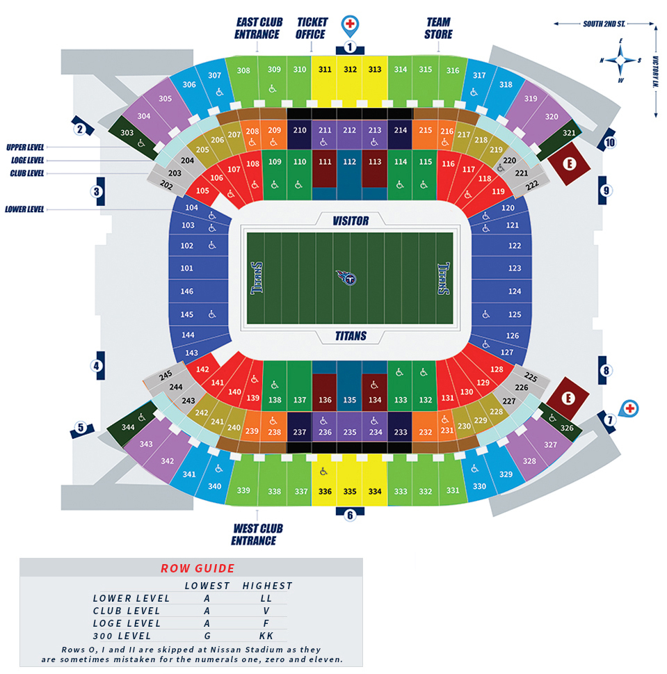 Seating Charts 1511823703 Titans Tickets