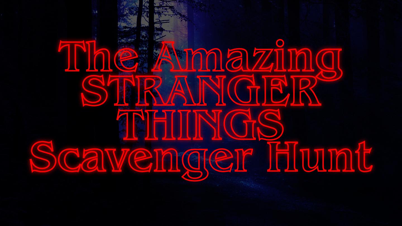 """""""Stranger Things""""-Themed Scavenger Hunt in New York"""